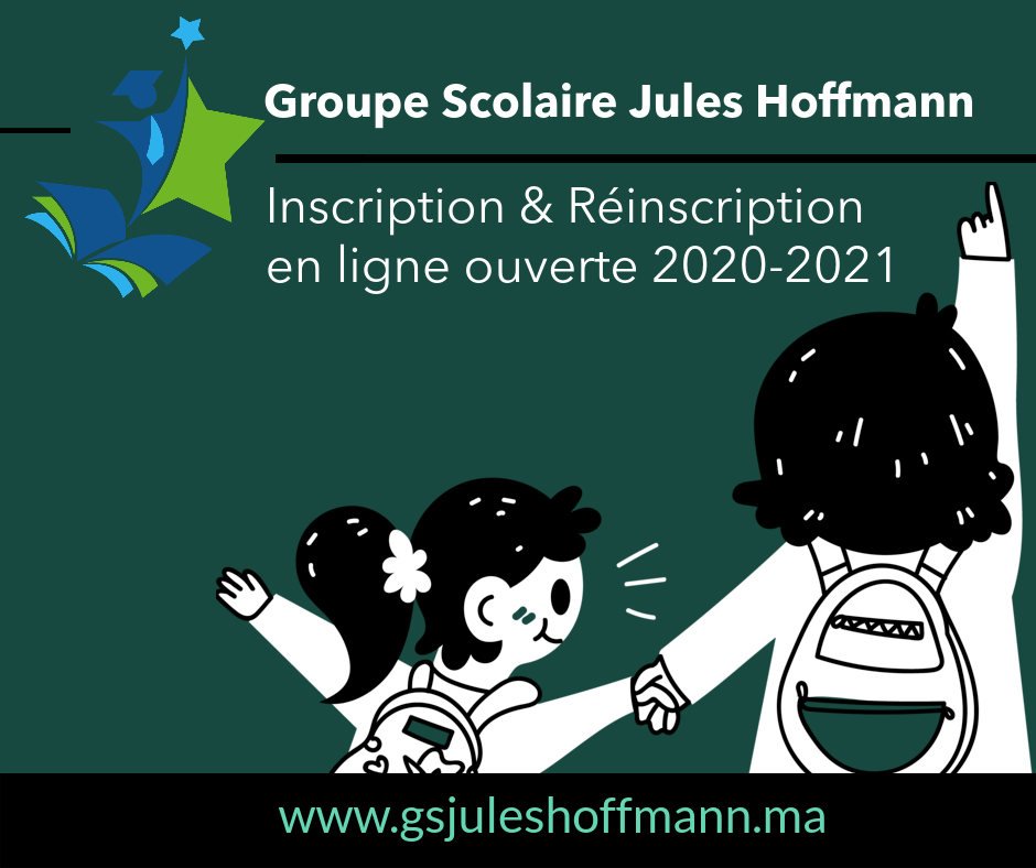 inscription et réinscription 2020-2021